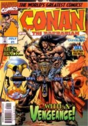 Conan The Barbarian Comics (1997 Series)